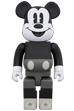 BE@RBRICK MICKEY MOUSE (B&W Ver.) 400%