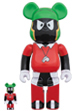 BE@RBRICK MARVIN THE MARTIAN 100% & 400%