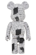 BE@RBRICK JEAN-MICHEL BASQUIAT #3 1000%