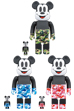 BE@RBRICK BAPE(R) MICKEY MOUSE 100% & 400%