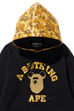 APE HEAD BE@R COLLEGE PULLOVER HOODIE