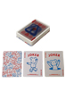 BE@RBRICK CLEAR & SOLID PLAYING CARDS